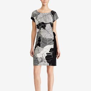 American Living Two-Tone Printed Jersey Dress, 12